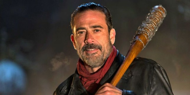 Image result for negan baseball bat